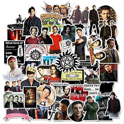 Lot de 50 stikers Supernatural