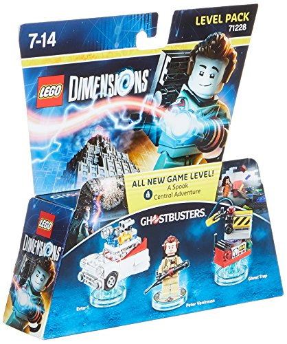 Lego dimensions Ghostbusters figurines