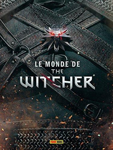 Livre le monde de The Witcher